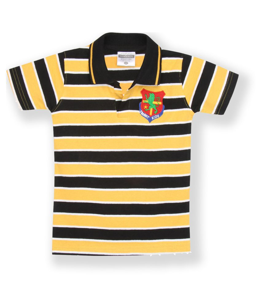 e465b5d3200 Tonyboy Multicolour Polo T Shirt available at SnapDeal for Rs.559