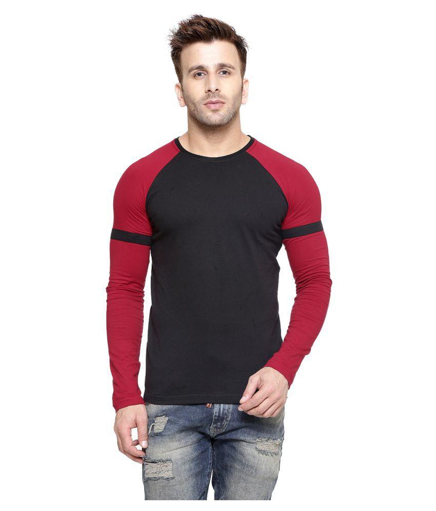 Gespo Black Round T-Shirt