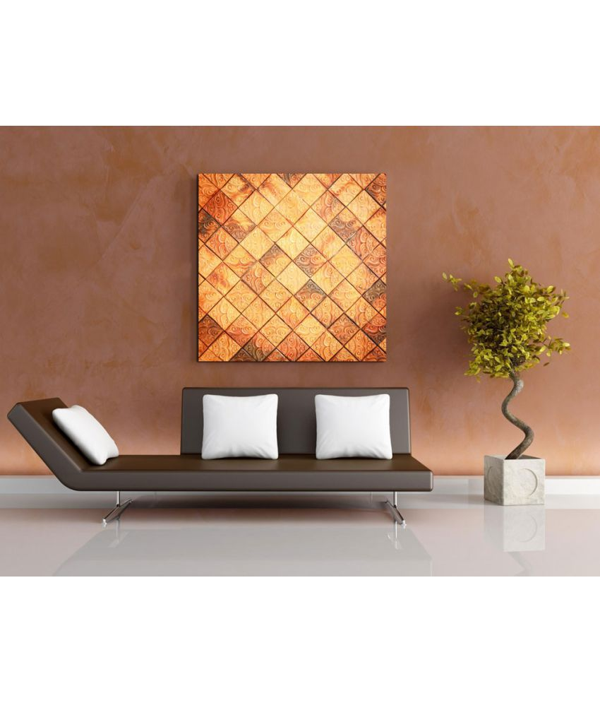 Ell Decor modern art Canvas Abstract Paintings Without Frame Single Piece