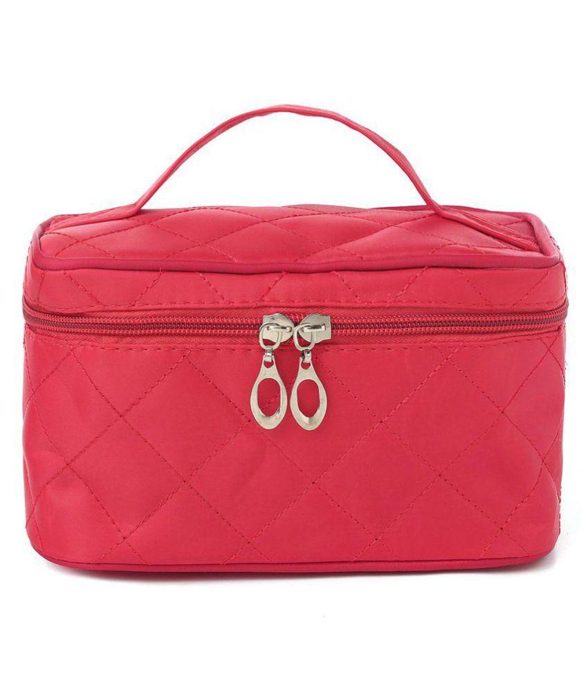 UberLyfe Cosmetic Bag cum Travel Organizer - Perfect for Weddings- Rose