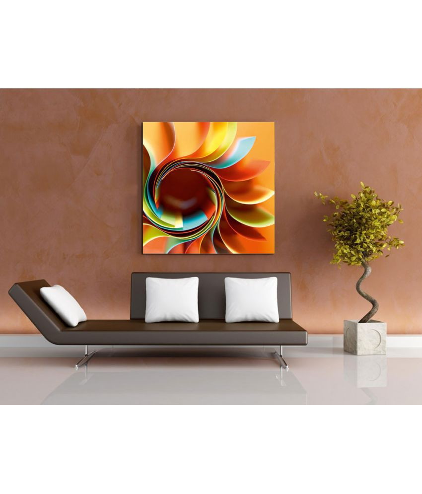 Ell Decor Modern Art Canvas Abstract Paintings Without Frame Single