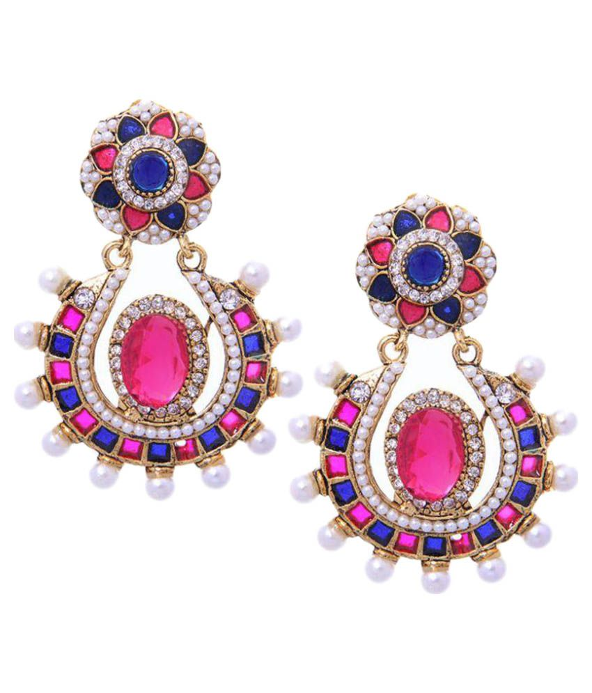 Kaizer Jewelry Multicolor Hanging Earrings