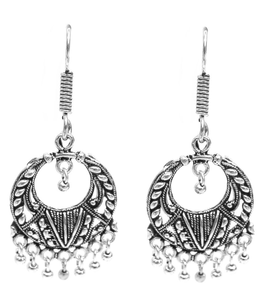 Lucky jewellery Silver Hanging Earring