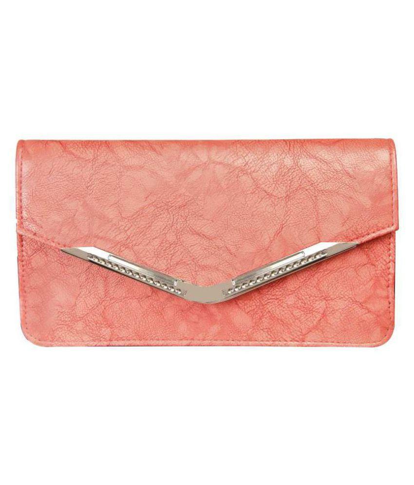 Louise Belgium PeachPuff Non Leather Sling Bag