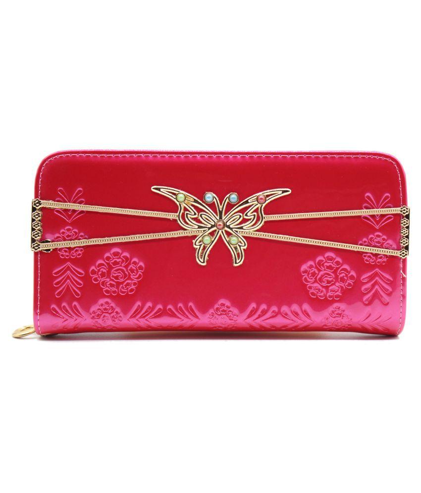 Trendy Pink Wallet