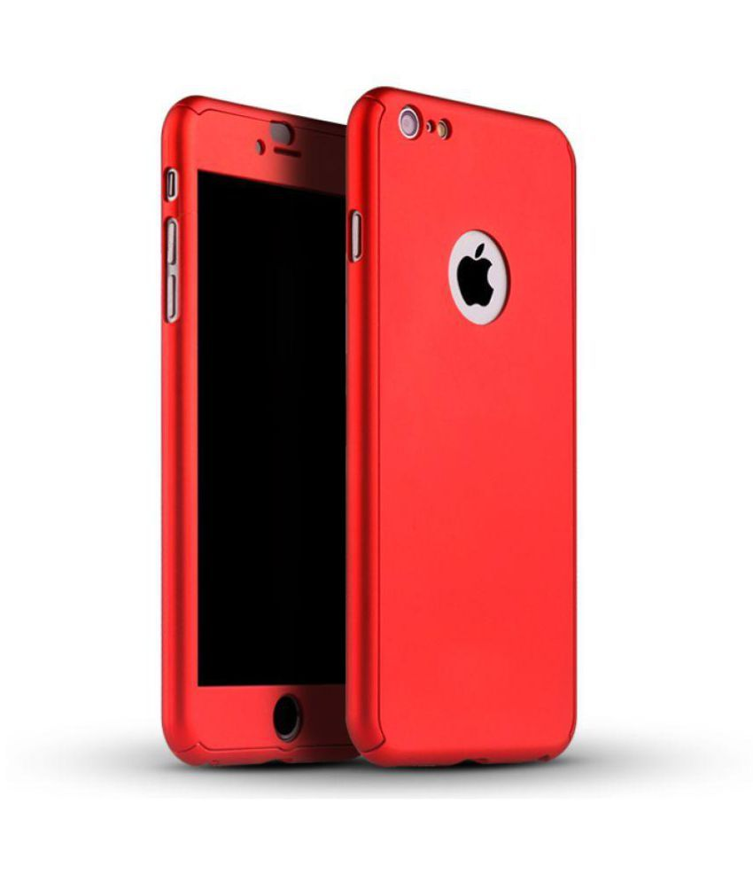 Apple Iphone 7 Plus Cover By Neu Speed Red Plain Back Covers