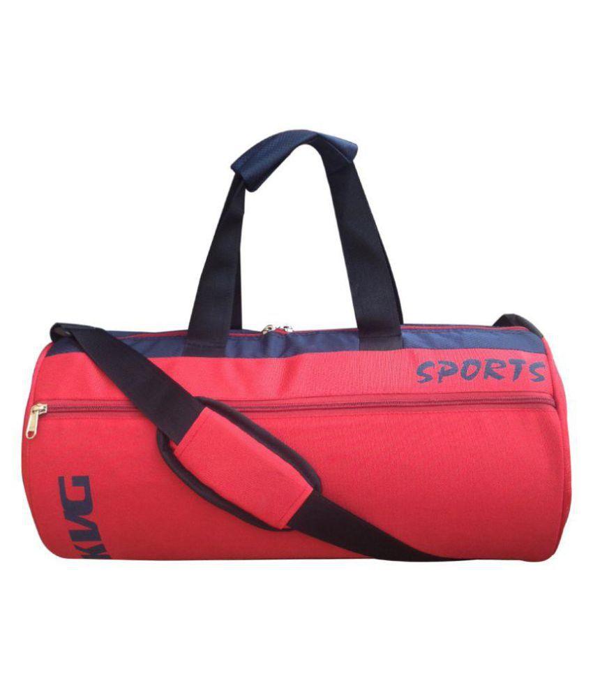 KVG red Gym Bag
