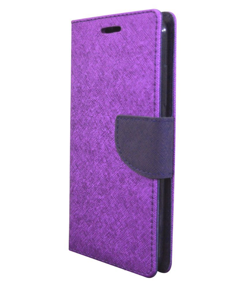 Sony Xperia Z Flip Cover by Coverage - Purple