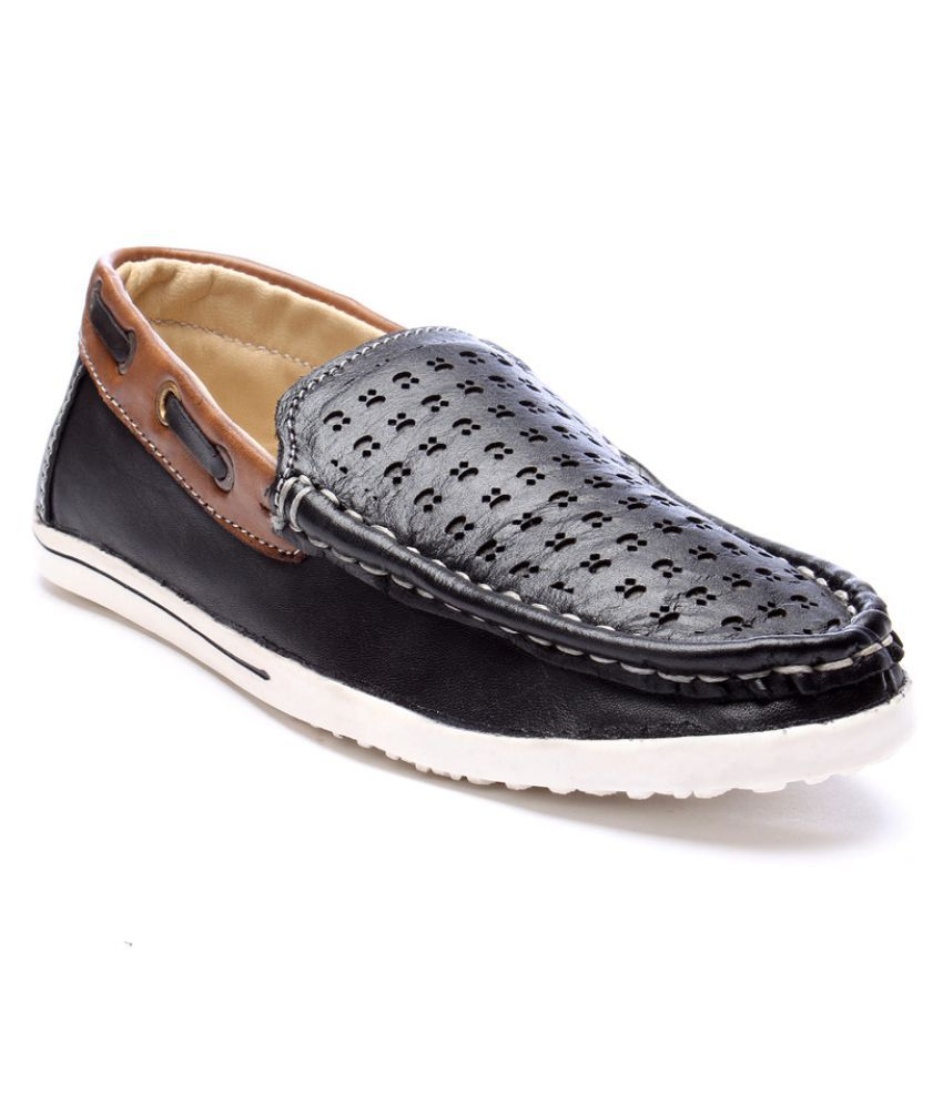 2015 black leather casual shoes price in india buy 2015
