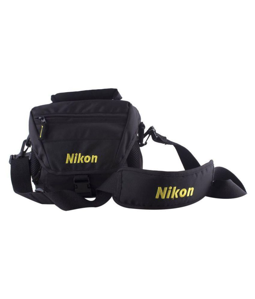 Nikon Nylon Shoulder Bag Black