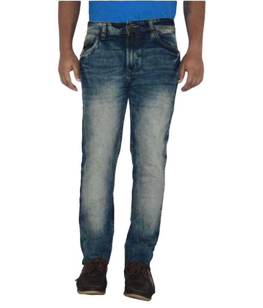 Pepe Jeans Blue Slim Faded
