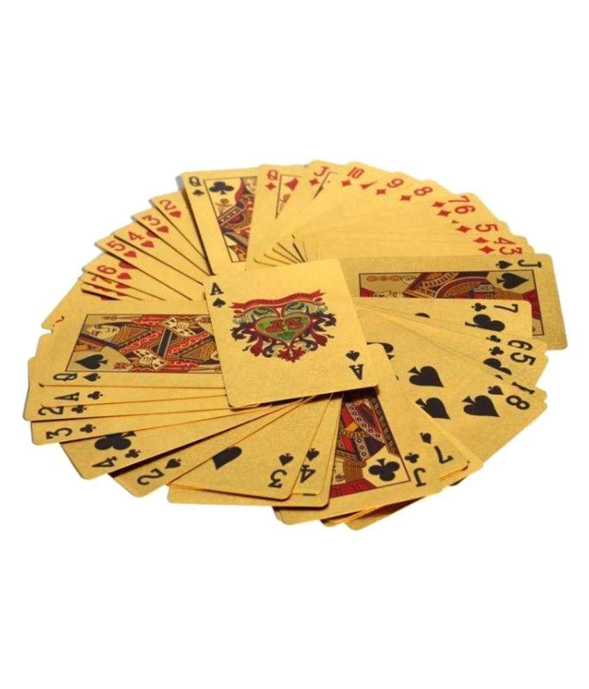 Sahaya Golden Playing Cards