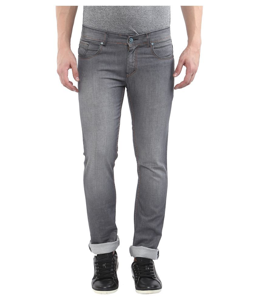 11cent Grey Slim Washed