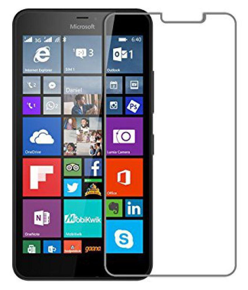 Microsoft Lumia 540 Tempered Glass Screen Guard By Tecozo