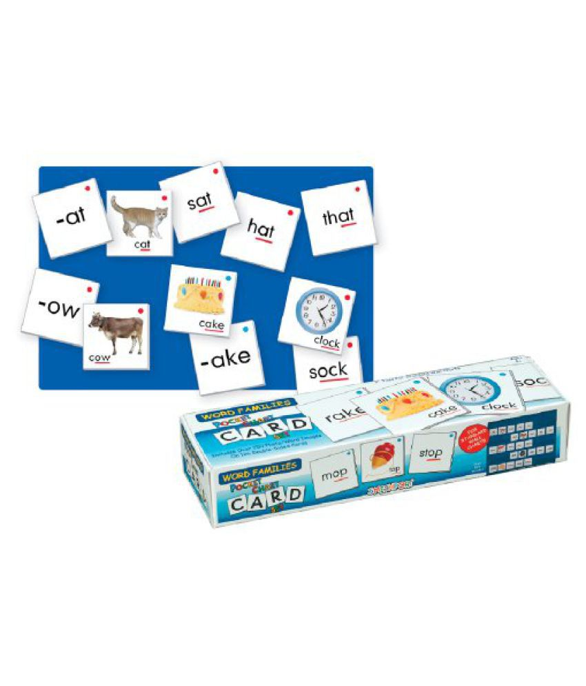 Smethport Pocket Chart Cards Word Families