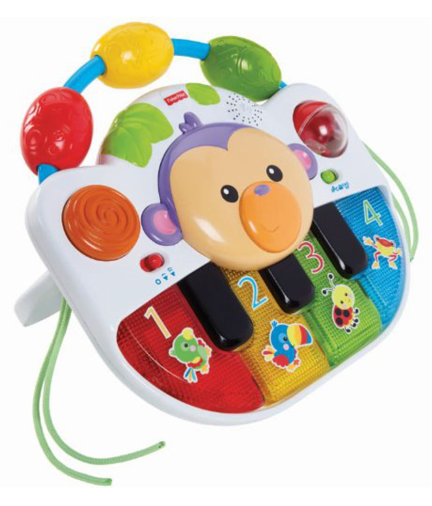 Fisher Price Musical Instrument Gift with Set, Multi Color