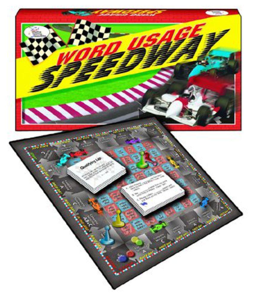 Remedia Publications REM6278 Word Usage Speedway