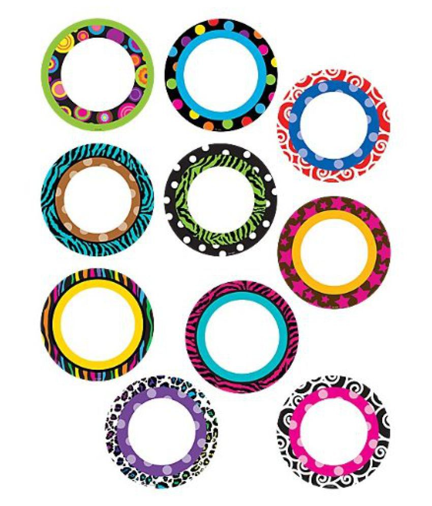 Teacher Created Resources Fancy Circles Accents (5282)