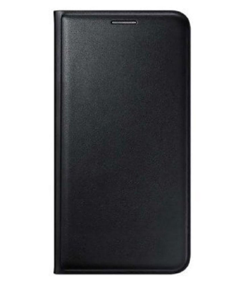 Lenovo Vibe K4 Note Flip Cover by Top Grade - Black