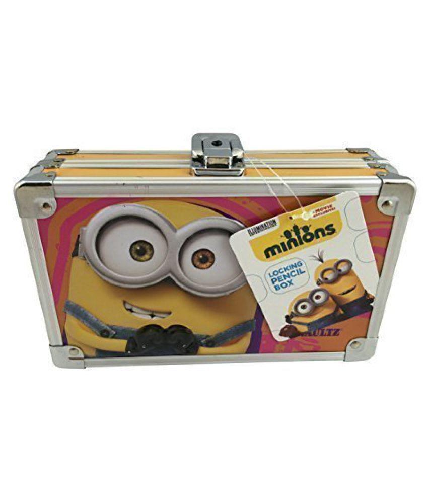 Minions Locking Pencil Box