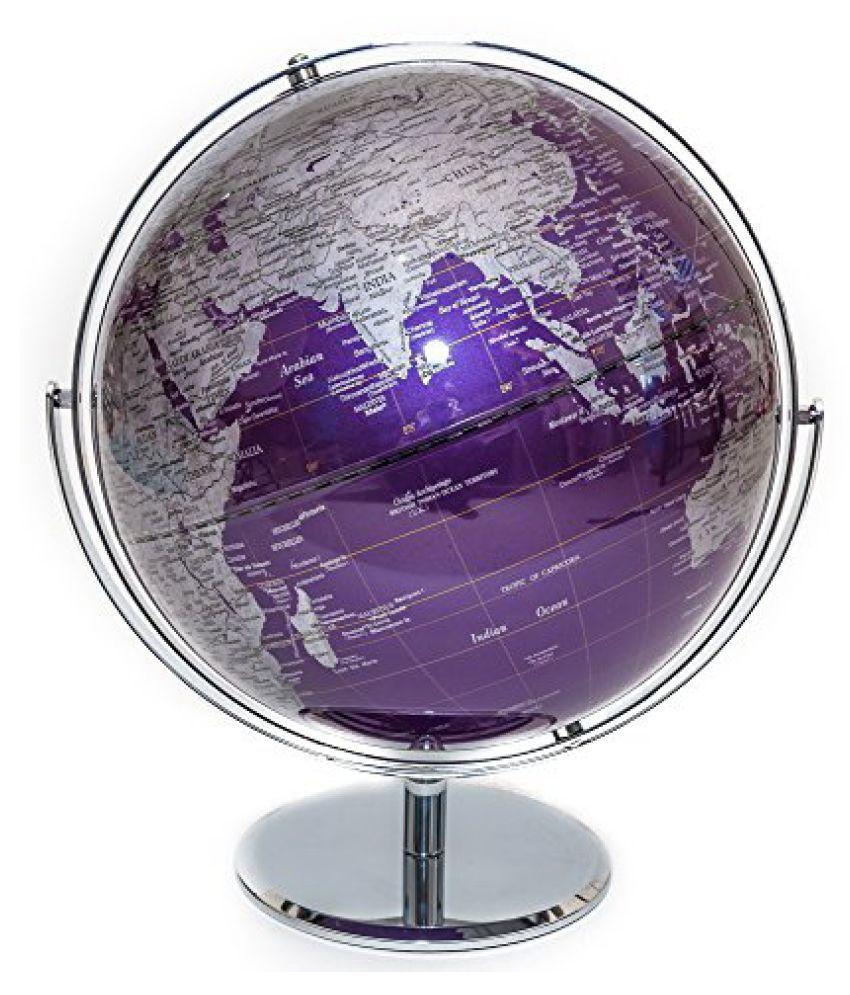 Purple Contemporary Globe Of The World 12