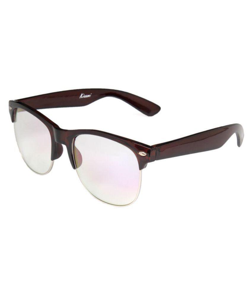 Kiaami Clear Wayfarer Sunglasses ( KI520 )