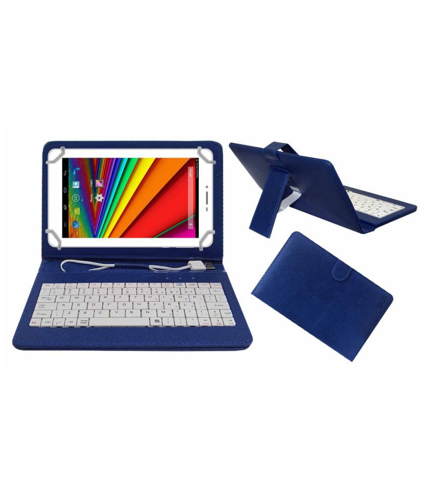 Acer A1-713Hd Keyboard Cover By ACM Blue