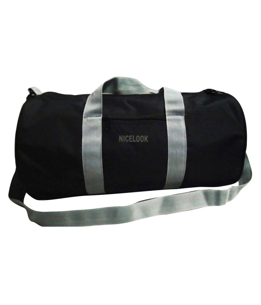 NiceLook Black Gym Bag