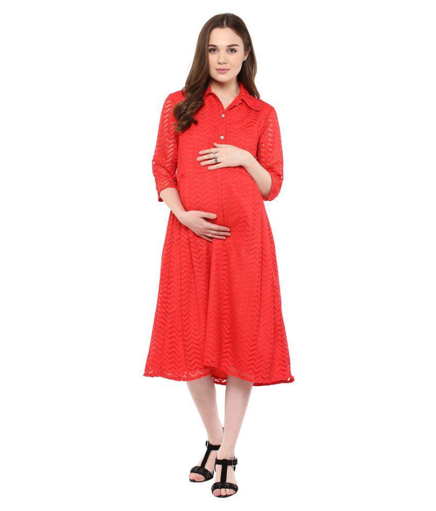 Buy mine4nine red lace maternity wear online at best prices in mine4nine red lace maternity wear mine4nine red lace maternity wear ombrellifo Choice Image