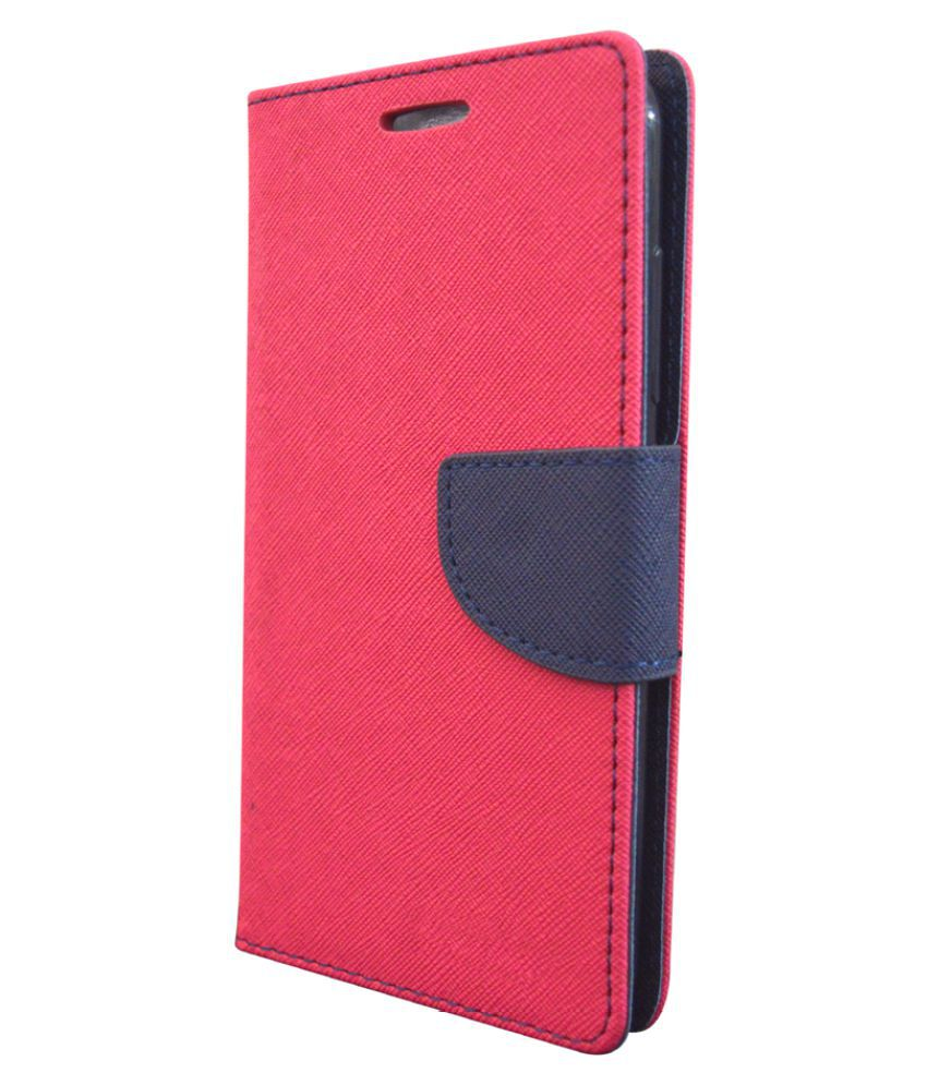 Sony Xperia Z1 Flip Cover by COVERNEW - Pink