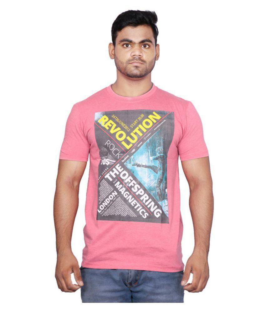 Cf Better Deals Pink Round T-Shirt