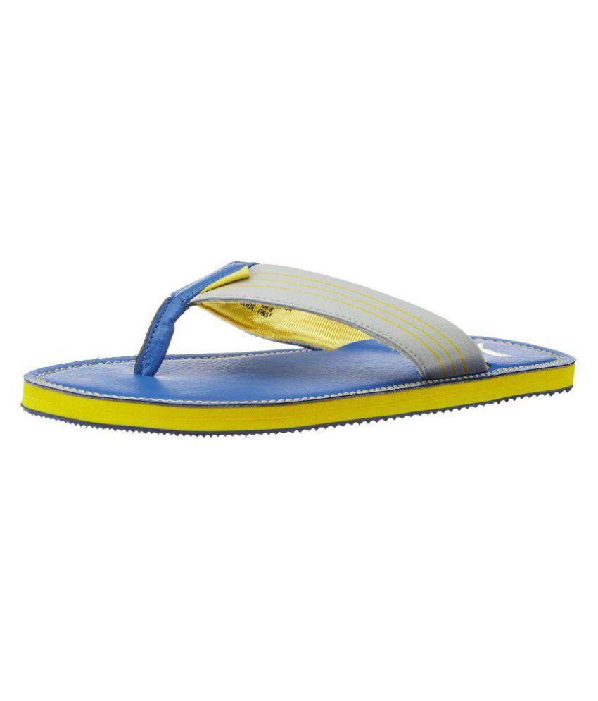 Puma Blue Slippers