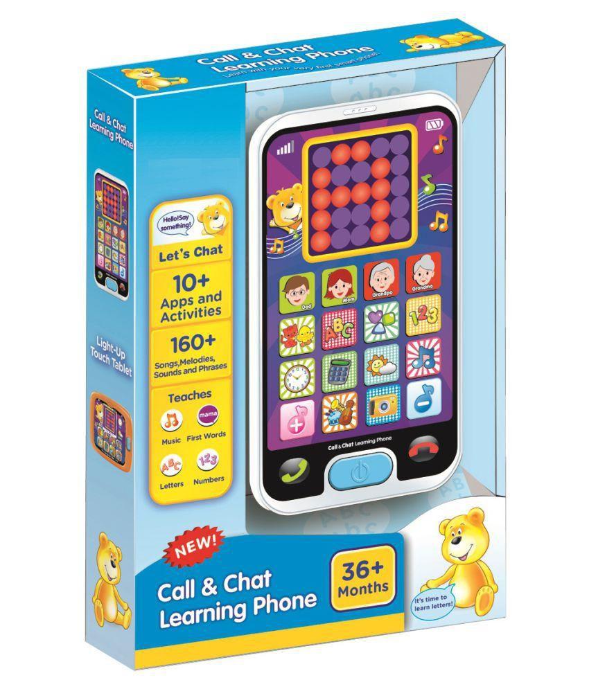 WebbyMulticolour Learning Phone
