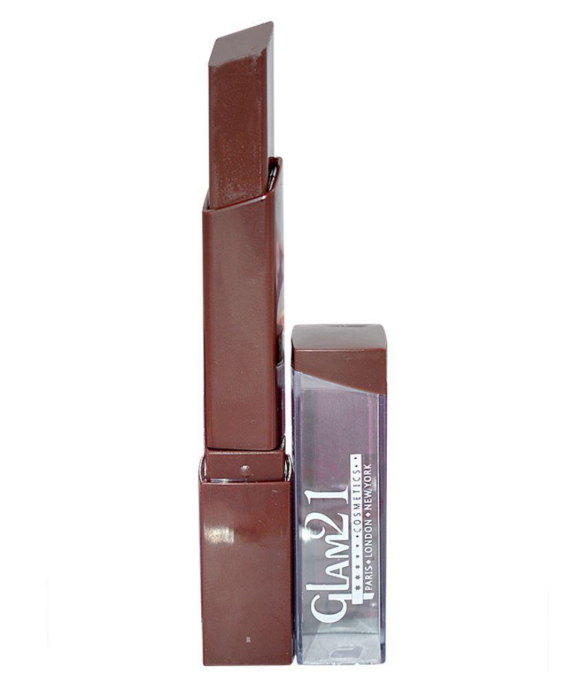 GLAM 21 Good Choice India Creme Lipstick Brown 1 gm