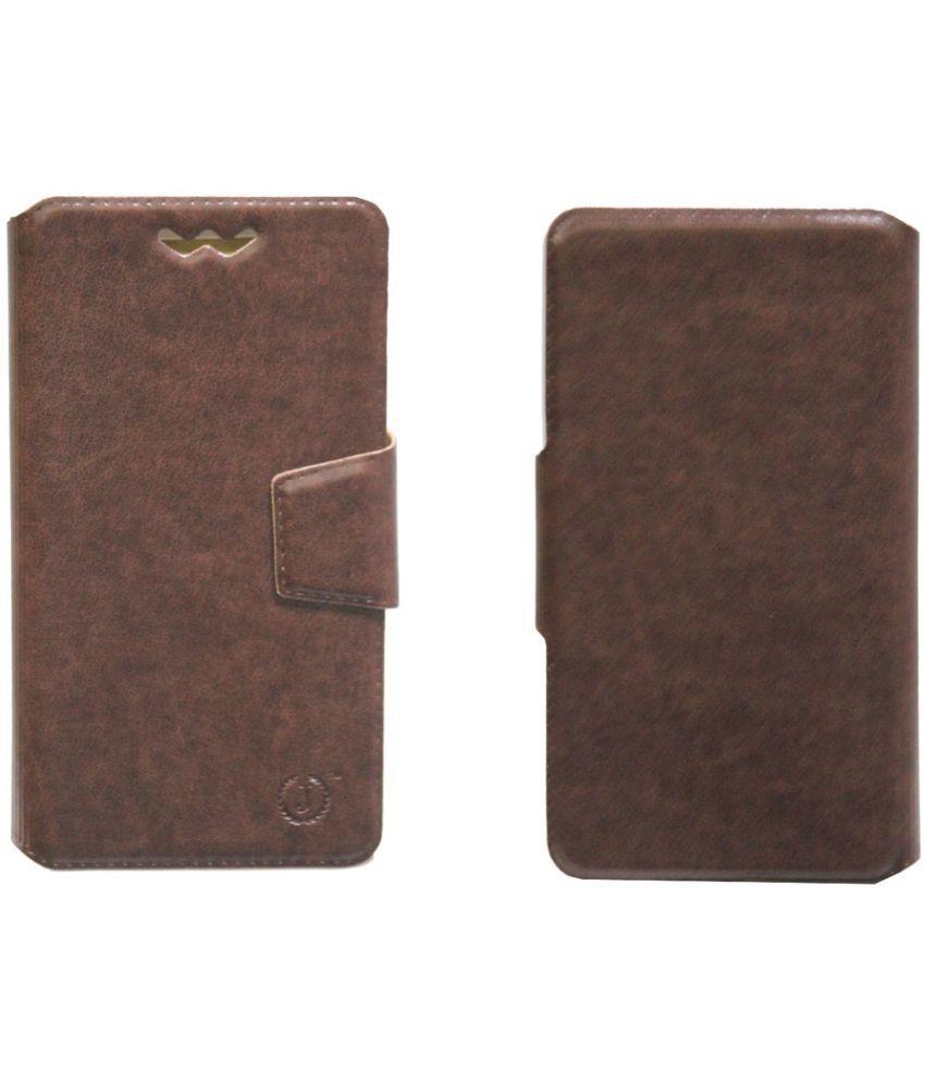 Acer Liquid Z630S Flip Cover by Jojo - Brown