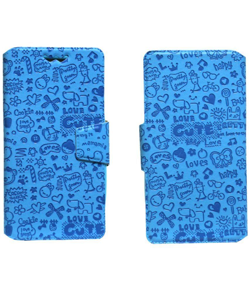 Elephone M2 Flip Cover by Jojo - Blue