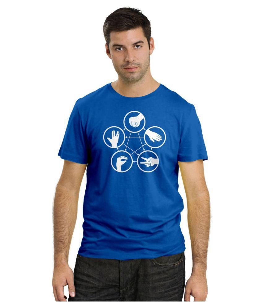 DNA Blue Round T-Shirt