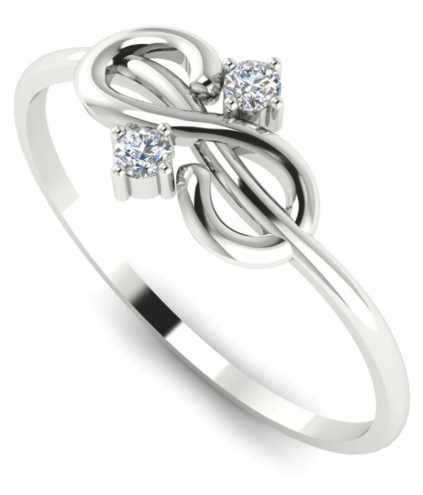 Astrum Diamonds 18k White Gold Ring