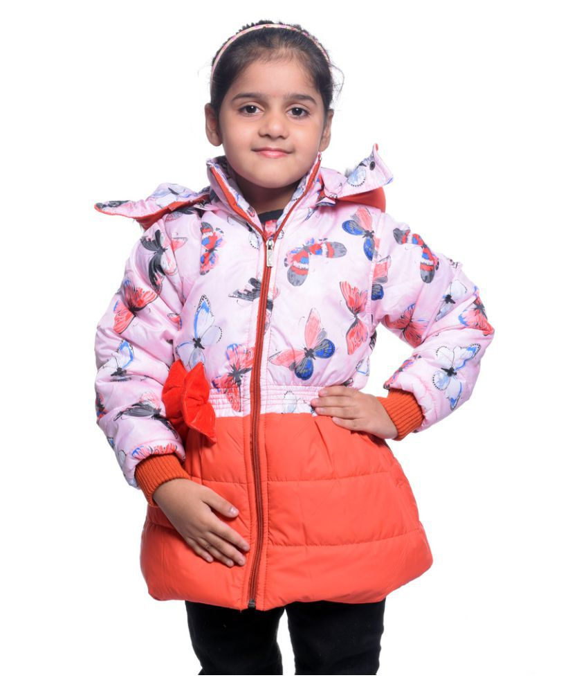 Come In Kids Multicolor Polyester Jacket