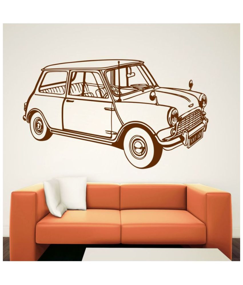 Decor Villa Mr Bean Car Vinyl Wall Stickers Buy Decor Villa Mr