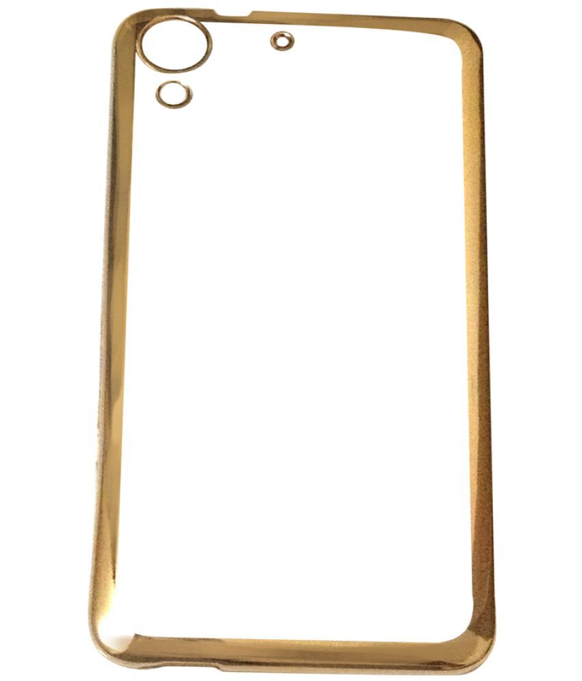 HTC Desire 728 Cover by Kolorfame - Golden