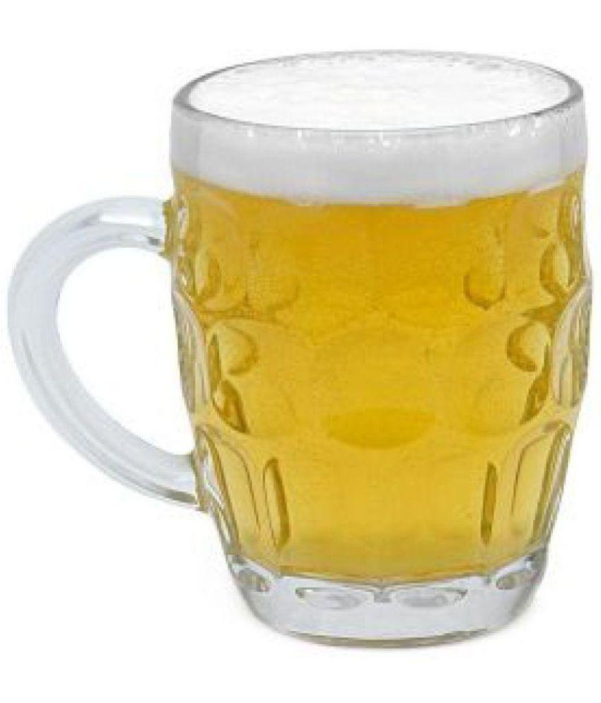 Compass Glass Transparent Beer Mug - Set of 2: Buy Online at Best ...