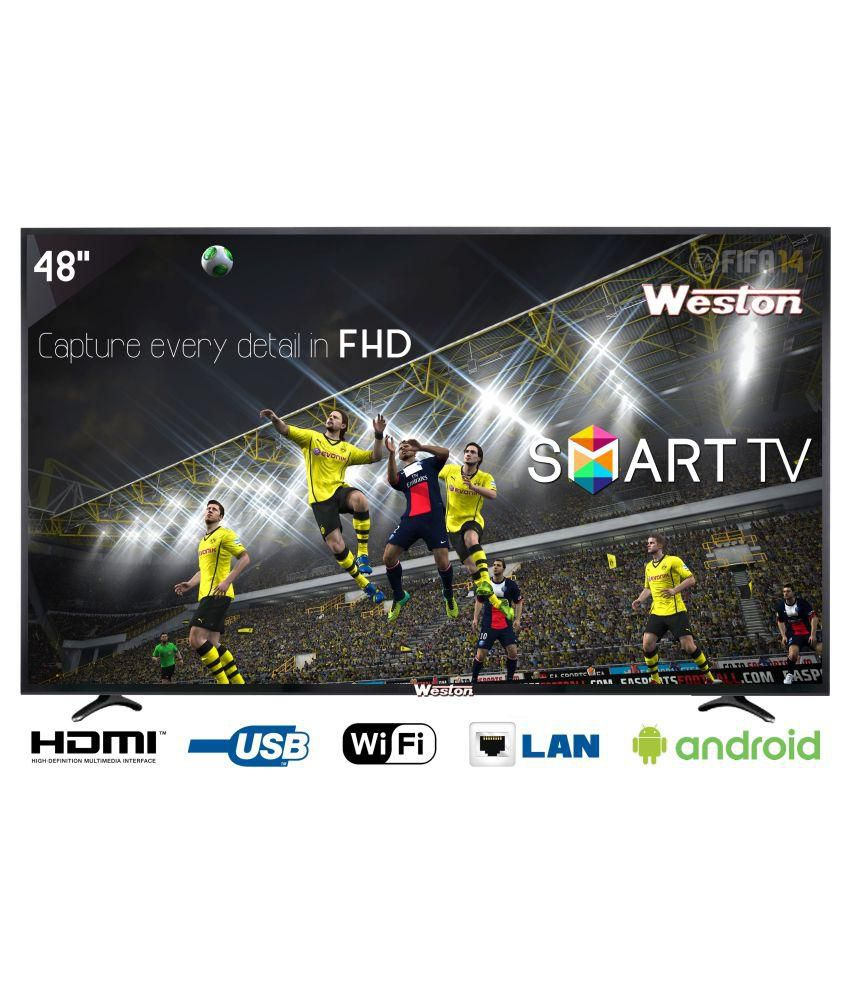 Weston WEL-5100 122 cm ( 48 inch ) Smart LED Television By Snapdeal @ Rs.27,990