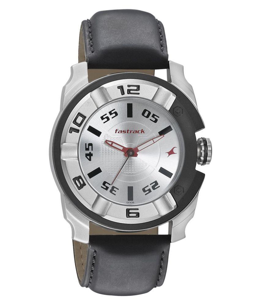 fastrack 3150kl01 black analog watch buy fastrack