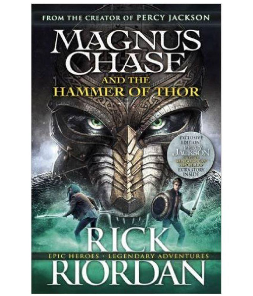 magnus chase and the hammer of thor paperback english buy
