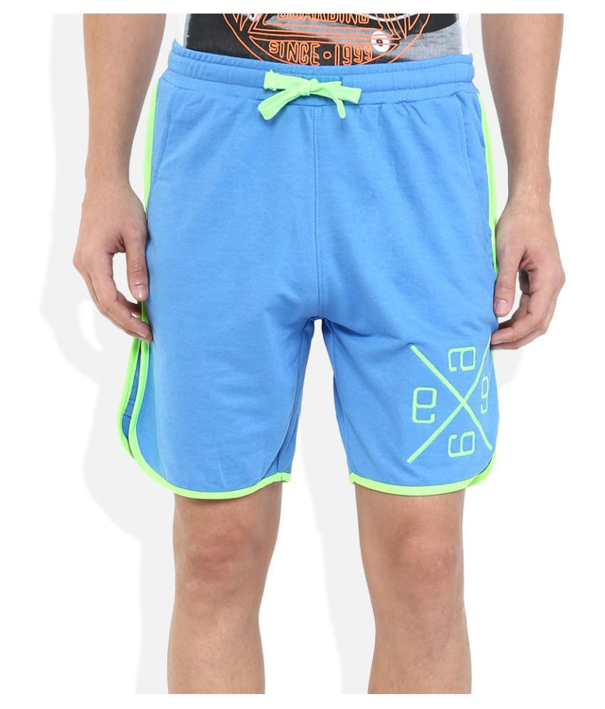 Indigo Nation Blue Shorts