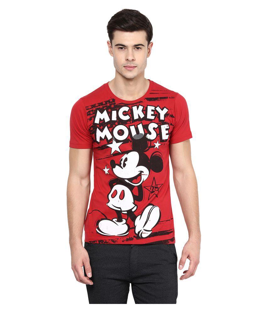 Yepme Red Round T-Shirt