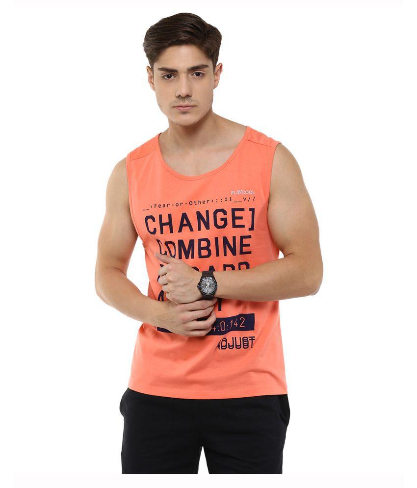 Yepme Orange Round T-Shirt