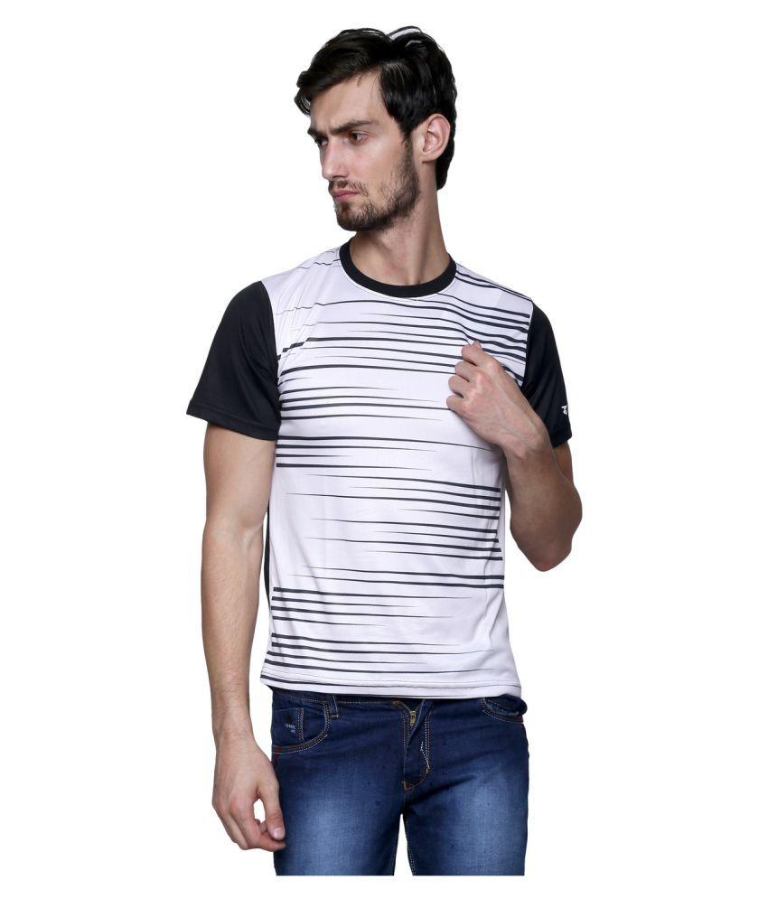 Sudeva White Round T-Shirt
