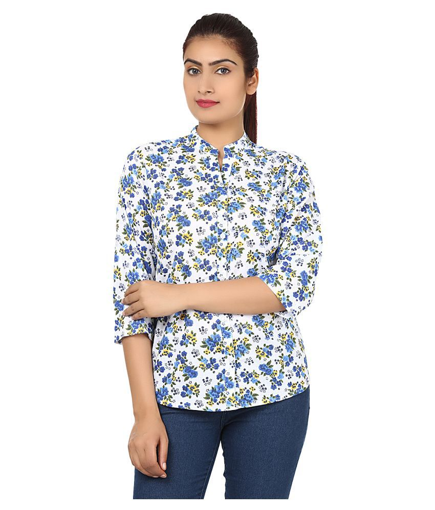Bansons Fashion Multi Color Cotton Shirt